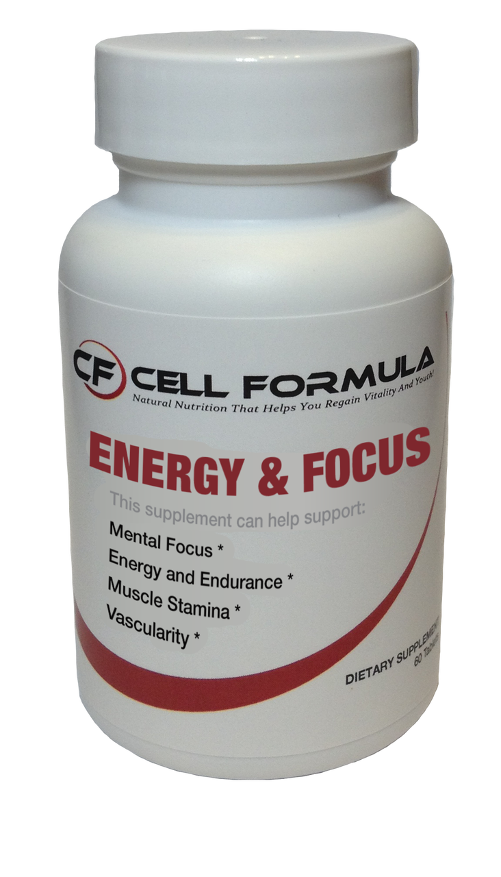 All Natural Energy And Focus Supplement By Cell Formula